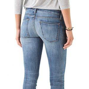 Current/Elliott Jeans Rolled Skinny 27 Blue Chip